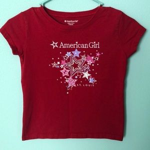 🌟Discontinued American Girl Red St. Louis Shirt🌟